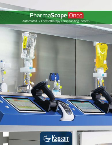 KAPSAM PharmaScope Onco Automated IV Chemotherapy Compounding System