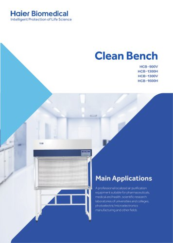 Clean Bench (HCB-900V / HCB-1300H / HCB-1300V / HCB-H)