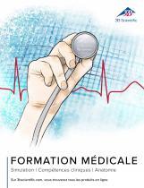 3B Scientific Catalogue Formation Médicale - Simulation - Compétences cliniques - Anatomie - 1