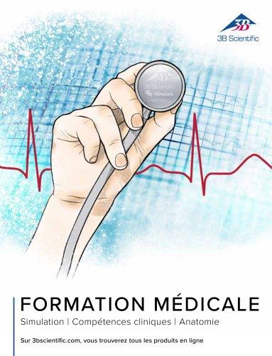 3B Scientific Catalogue Formation Médicale - Simulation - Compétences cliniques - Anatomie