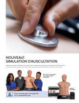 3B Scientific Catalogue Formation Médicale - Simulation - Compétences cliniques - Anatomie - 3