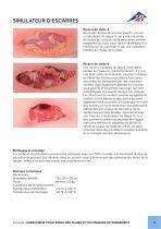 Notice d'utilisation - Simulateur d'escarres - P15 - 3