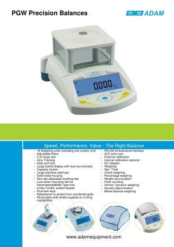 PGW Precision Balances