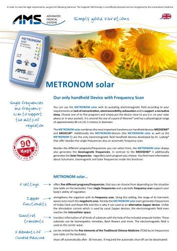 METRONOM solar