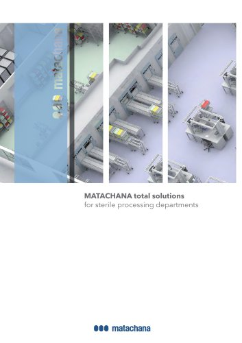 MATACHANA total solutions for sterile processing departments