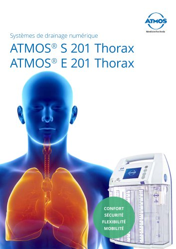 ATMOS® S 201 Thorax ATMOS® E 201 Thorax