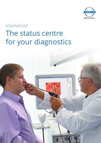 ATMOSoft ENT The status centre for your diagnostics