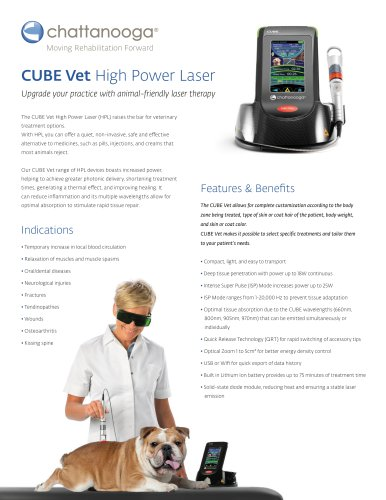 CUBE Vet High Power Laser