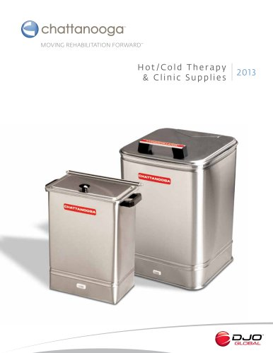 Hot/Cold Therapy & Clinic Supplies 2013