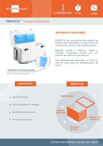 Bac réfrigérant Freetech
