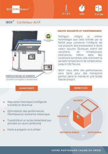 Container réfrigérant semi-actif iBox