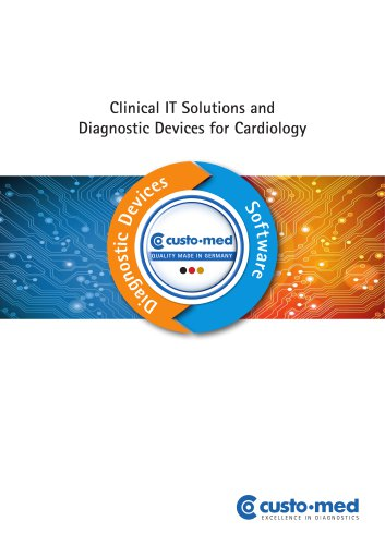 Clinical IT Solutions and Diagnostic Devices for Cardiology