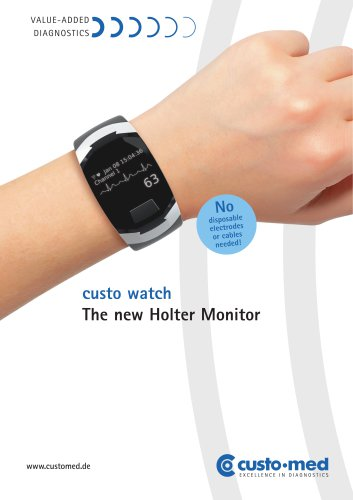 custo watch The new Holter Monitor