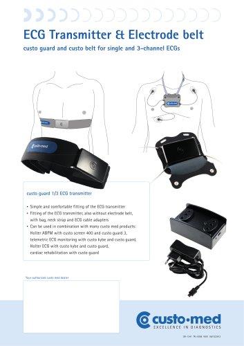 ECG Transmitter & Electrode belt