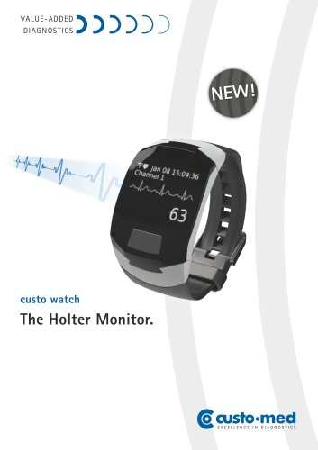 The new holter ECG