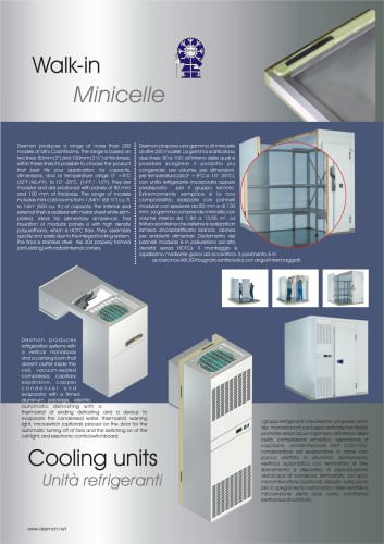 Cooling units for coldrooms