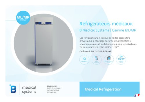 B Medical Systems | Gamme ML/MP 4