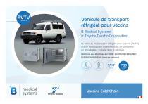 Véhicule de transport  réfrigéré pour vaccins - 1