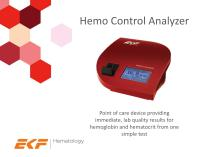 Hemo Control Analyzer