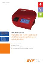 Hemo Control Product Sheet (French)