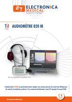 Audiomètre 820M