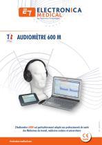 Audiomètre informatisé 600M