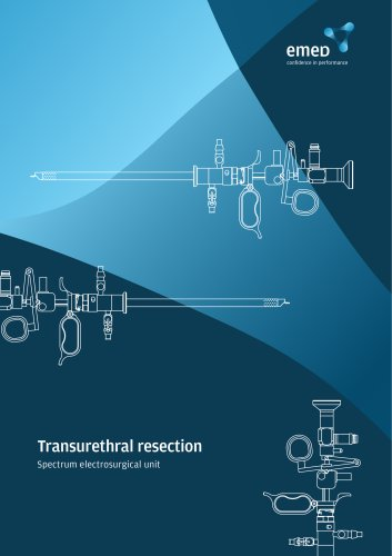 TUR in Saline - universal resectoscope