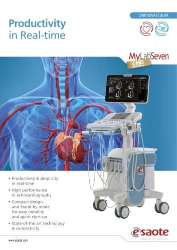 MyLab™Seven eHD Technology - Cardiovascular Leaflet
