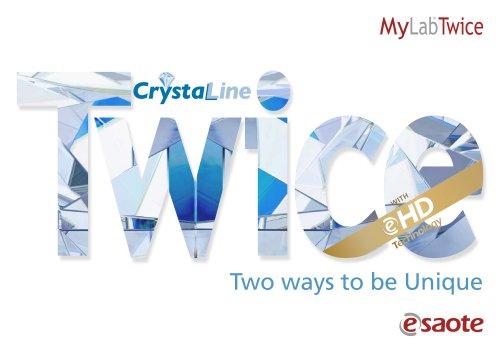 MyLab™Twice eHD&CrystaLine Technology - Brochure