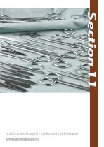 Section 11 - Instruments de chirurgie