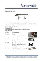 Preparation Table BASIC