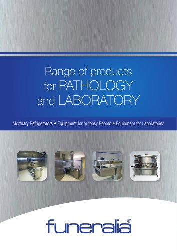 Range of products for PATHOLOGY and LABORATORY