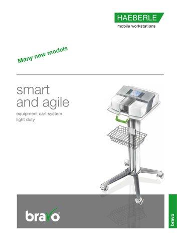 bravo - equipment cart system light duty