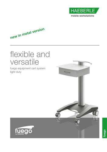 fuego - equipment cart system light duty