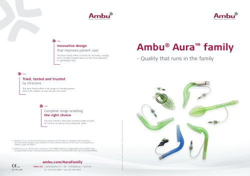 Ambu Family Brochure