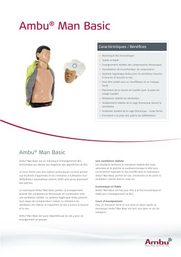 Ambu® Man Basic