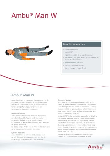 Ambu® Man Wireless