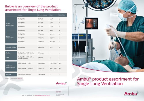 aScope 3 Family Brochure Single Lung Ventilation