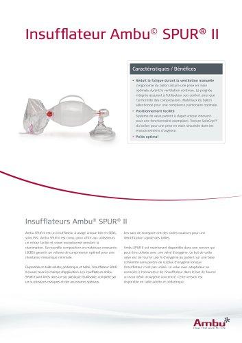 Insufflateur Ambu© SPUR® II