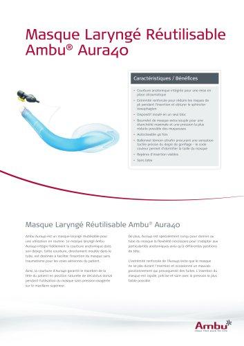 Masque Laryngé Réutilisable Ambu® Aura40
