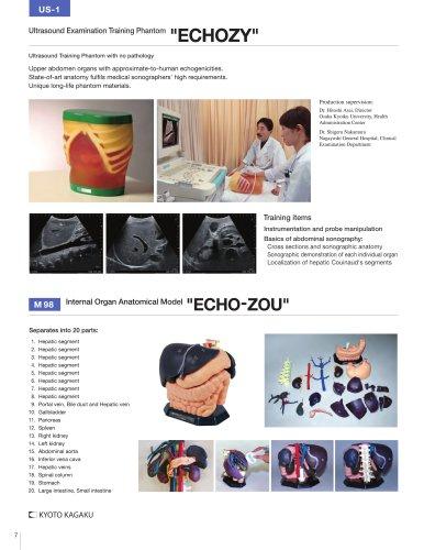 "US-1 US-1 Ultrasound Examination Training Model ""ECHOZY"""
