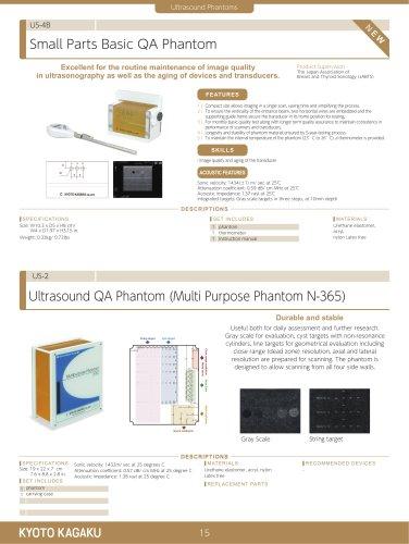 US-2 Ultrasound Quality Assurance Phantoms