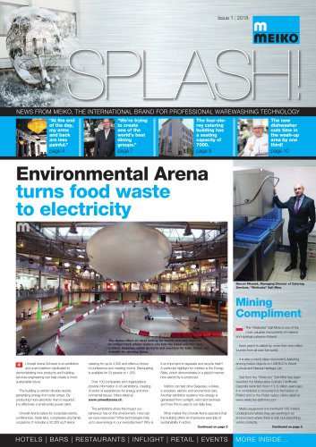 Environmental Arena turns food waste to electricity