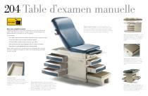 Brochure: 204 Manual Examination Table - 3