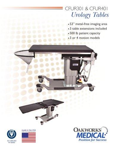 CFUR301 / CFUR401 Urology Tables