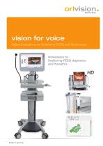 vision for voice - digital workstation for swallowing (FEES) and stroboscopy