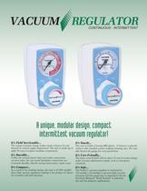 Continuous Intermittent Vacuum Regulator Brochure