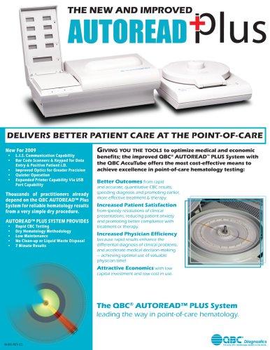 Brochure: QBC Autoread Plus