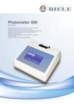 Photometer 680 WATER ANALYSIS