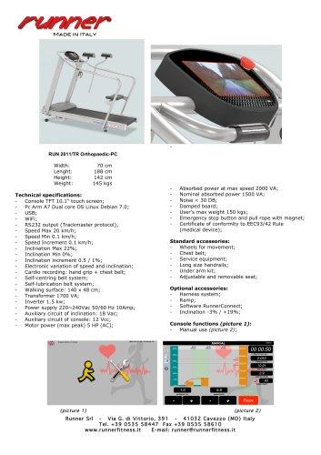 RUN 2011/TR Orthopaedic-PC